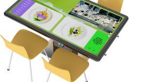 Dijital Yemek Masaları